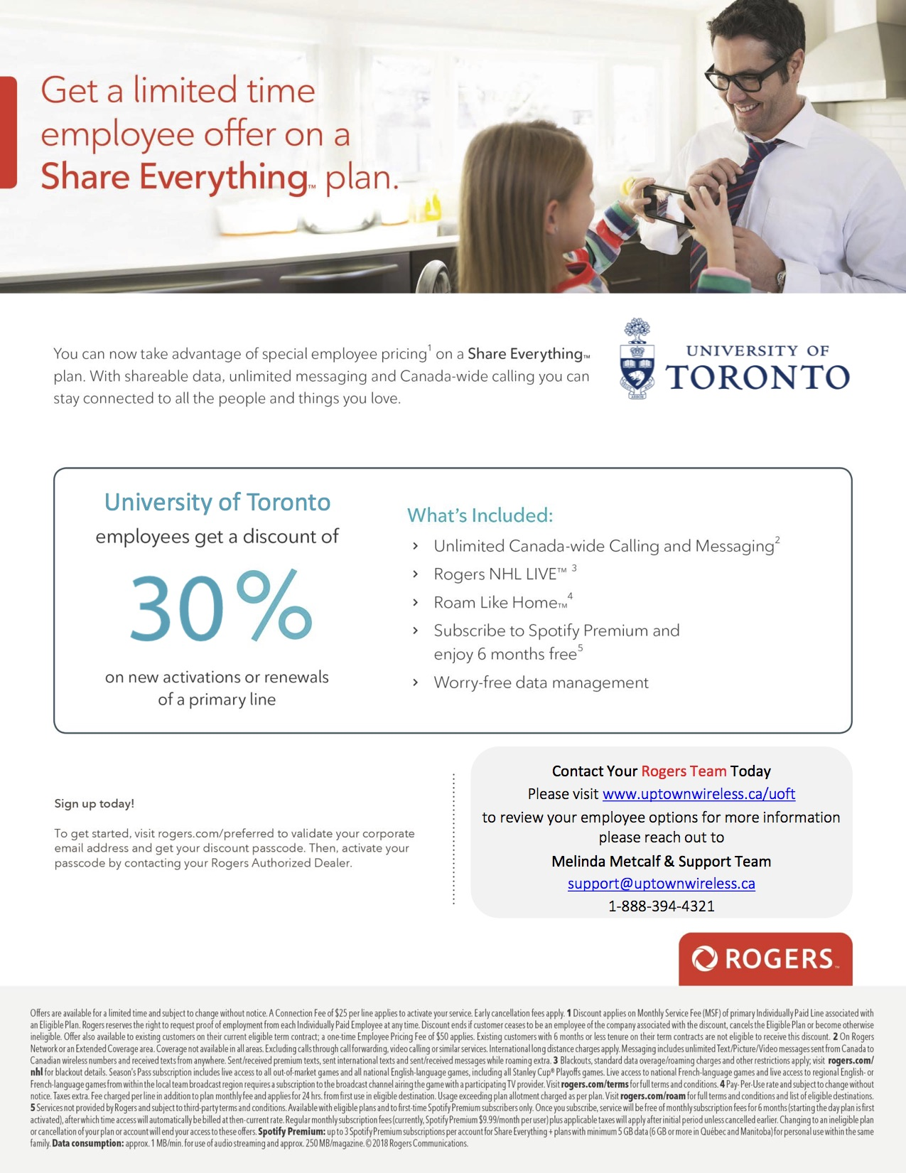 Rogers University Of Toronto Employee Discounts