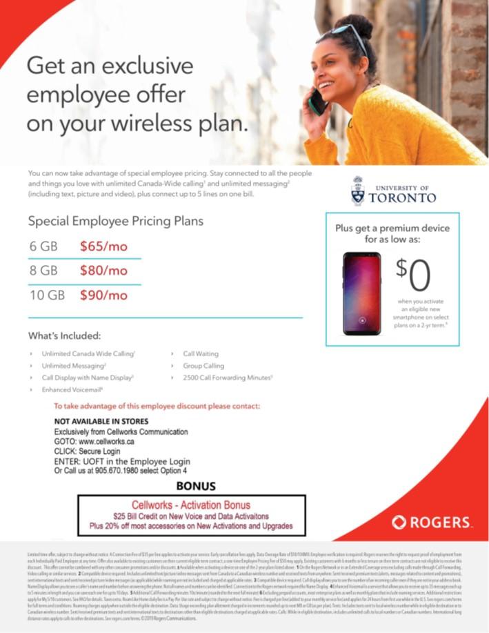 Employee Personal Plans - Telecommunications