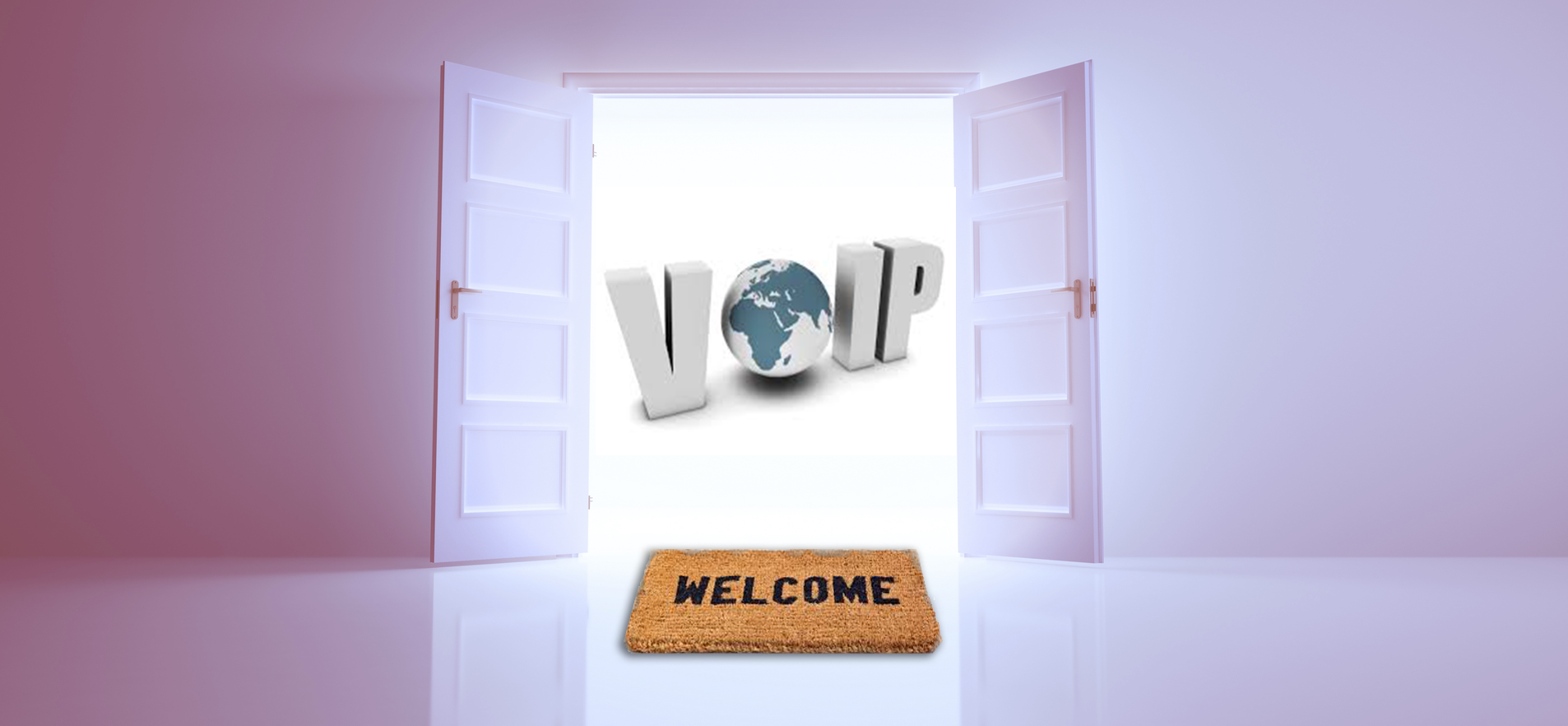 VoIP word cloud